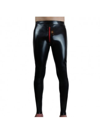 leggings with crotch zip