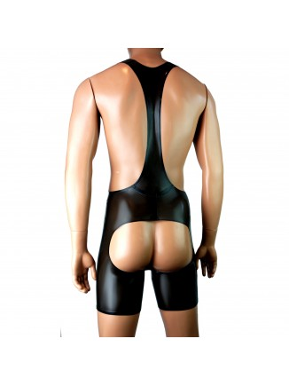 Cod piece Wrestling singlet - backless