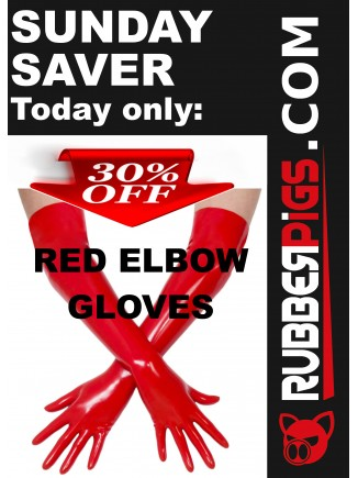Red Elbow gloves