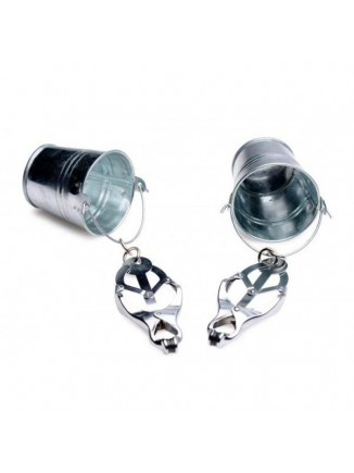 Master Series Nipple Clamps with Buckets