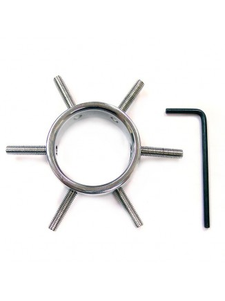 Rouge Stainless Steel Cock Clamp Ring