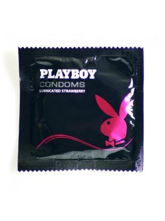 PlayBoy Strawberry Condoms 12 Pack